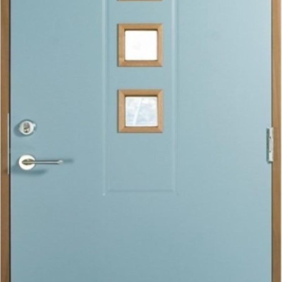 Wooden exterior doors
